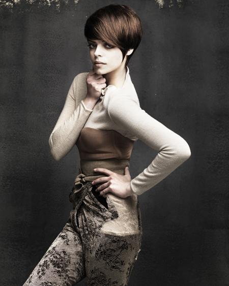 Janer Stewart Scottish Hairdresser of the Year 2009 Collection Pic 1