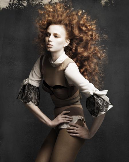 Janer Stewart Scottish Hairdresser of the Year 2009 Collection Pic 3