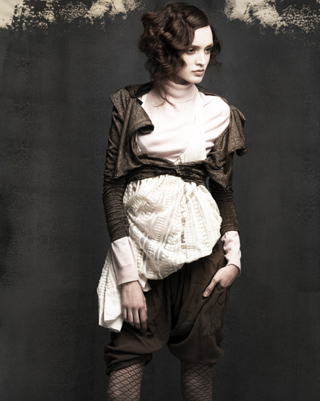 Janer Stewart Scottish Hairdresser of the Year 2009 Collection Pic 4