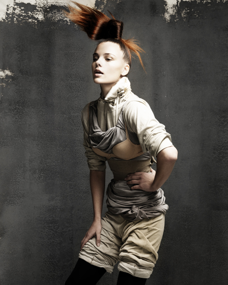 Janer Stewart Scottish Hairdresser of the Year 2009 Collection Pic 5