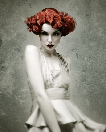 Kevin Kahan Northern Ireland Hairdresser of the Year 2009 Colleciton Pic 3