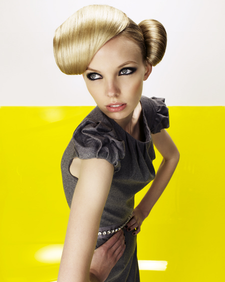 Sharon Peake North Western Hairdresser of the Year 2009 Collection pic 7