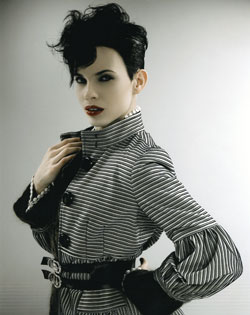 Liz Shipton Wales and South West Hairdresser of the Year 2007 Collection Pic 1