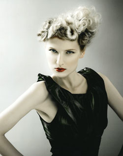 Liz Shipton Wales and South West Hairdresser of the Year 2007 Collection Pic 3