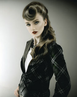 Liz Shipton Wales and South West Hairdresser of the Year 2007 Collection Pic 4
