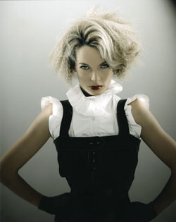 Liz Shipton Wales and South West Hairdresser of the Year 2007 Collection Pic 5