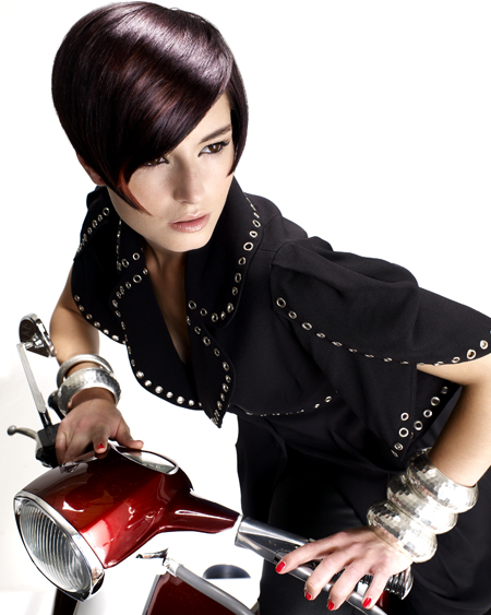 Susan Hall North Eastern Hairdresser of the Year 2009 Colleciton Pic 1