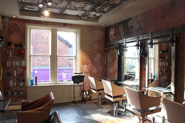 Boilerhouse, Jesmond - styling stations