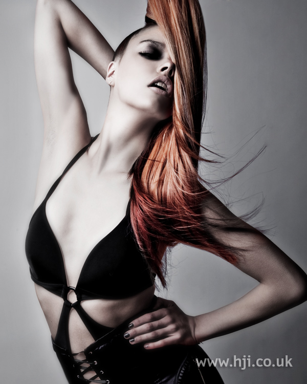 Chris Appleton Eastern Hairdresser of the Year 2010 Collection pic 3