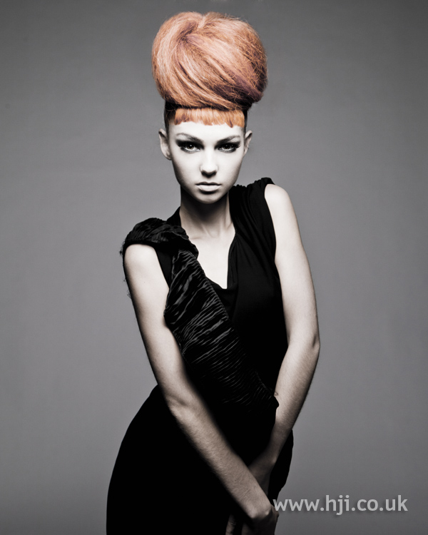 Chris Appleton Eastern Hairdresser of the Year 2010 Collection pic 4