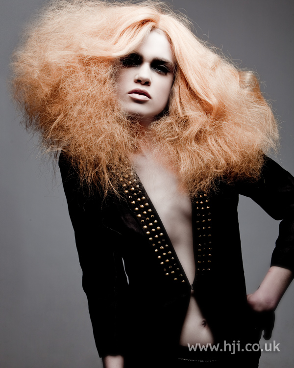 Chris Appleton Eastern Hairdresser of the Year 2010 Collection pic 8