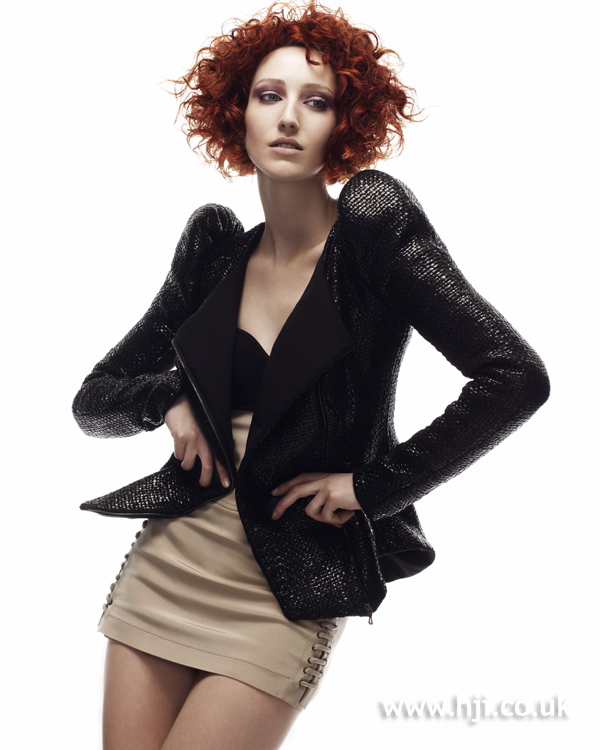 Keith Kane Northern Ireland Hairdresser of the Year 2010 Colleciton Pic 2