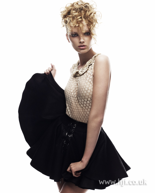 Keith Kane Northern Ireland Hairdresser of the Year 2010 Colleciton Pic 7