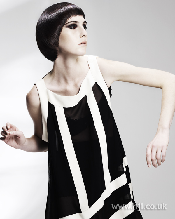Kay McIntyre Scottish Hairdresser of the Year 2010 Collection Pic 1