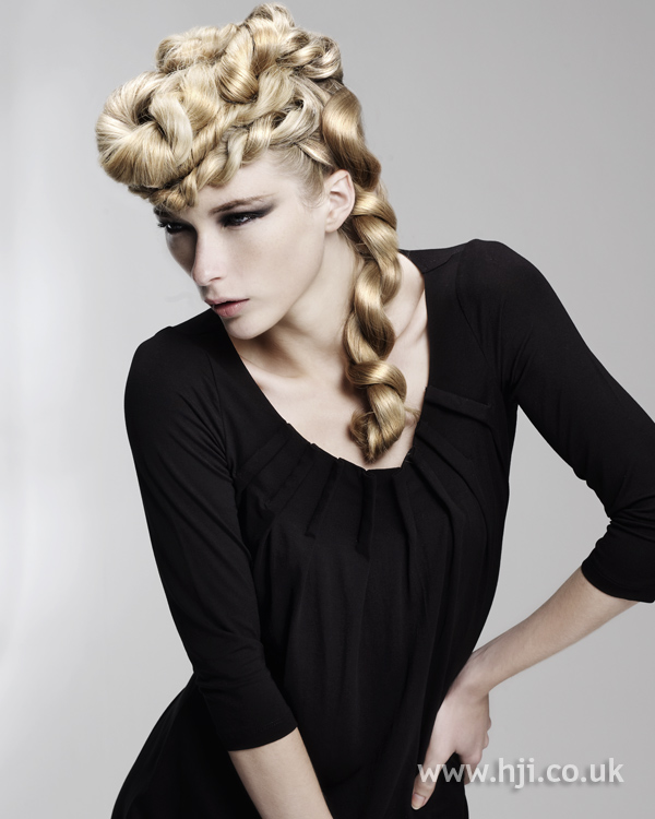 Kay McIntyre Scottish Hairdresser of the Year 2010 Collection Pic 3
