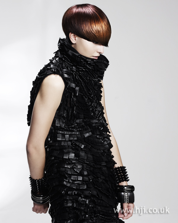 Kay McIntyre Scottish Hairdresser of the Year 2010 Collection Pic 4