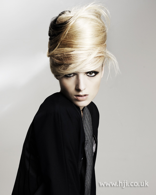 Kay McIntyre Scottish Hairdresser of the Year 2010 Collection Pic 6