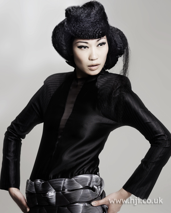 Kay McIntyre Scottish Hairdresser of the Year 2010 Collection Pic 8