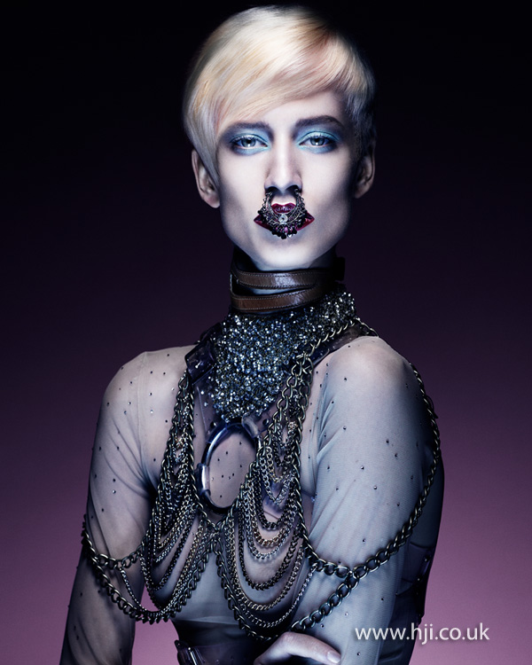 Kevin Kahan Northern Ireland Hairdresser of the Year 2012 Colleciton Pic 6