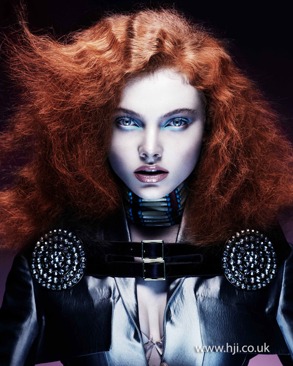 Kevin Kahan Northern Ireland Hairdresser of the Year 2012 Colleciton Pic 8