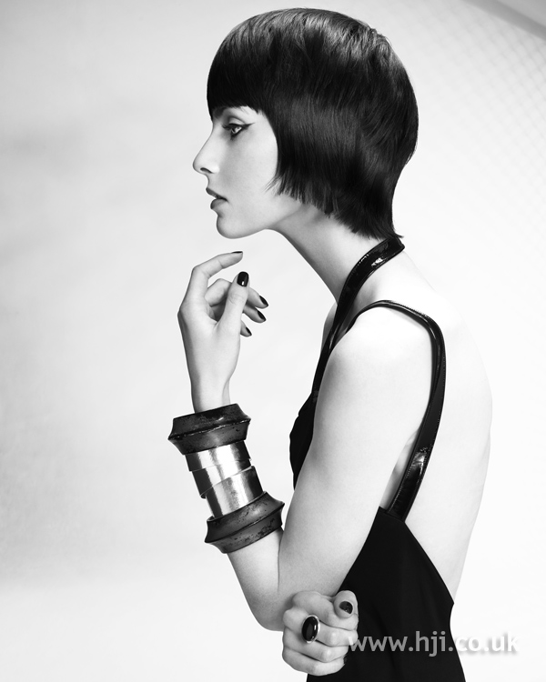 Lewis Moore and Jacky Crosby Midlands Hairdresser of the Year 2010 Colleciton Pic 1
