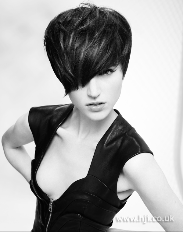 Lewis Moore and Jacky Crosby Midlands Hairdresser of the Year 2010 Colleciton Pic 2