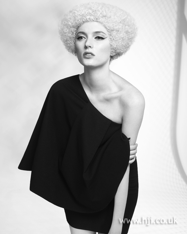 Lewis Moore and Jacky Crosby Midlands Hairdresser of the Year 2010 Colleciton Pic 4
