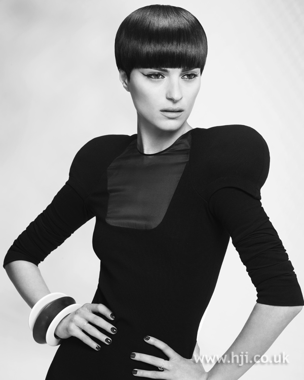 Lewis Moore and Jacky Crosby Midlands Hairdresser of the Year 2010 Colleciton Pic 5