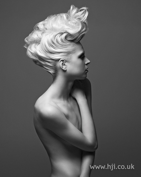 Sykler McDonald London Hairdresser of the Year 2010 Collection pic 4